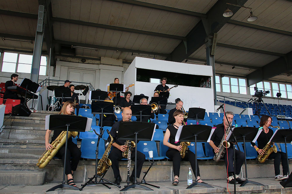 Dozent:innen-Bigband der Musikschule