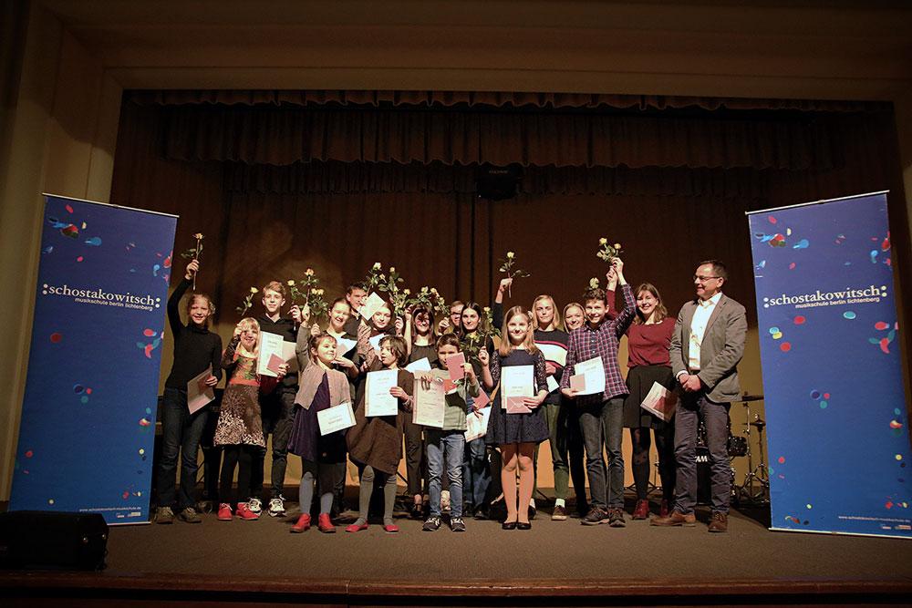 Preisträger Schostakowitsch-Wettbewerb 2020